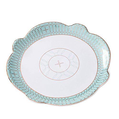 Xiao-Schüssel2 Europear-Art-handgemalter Obstschale-Korb, Wohnzimmer-keramischer Snack-Behälter kann Süßigkeit/Pistazie/Erfrischung/Frucht gespeichert Werden -