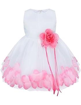 YiZYiF Baby Mädchen Kleid mit Blütenblätter Taufkleid Festlich Kleid Hochzeit Party Kleinkind Festzug Kinder Kleidung...