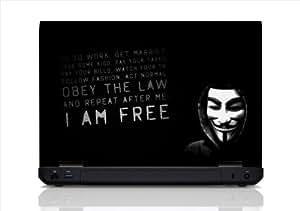 Hacker Laptop Skin (15.6 Inch Screen)