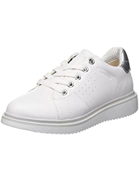 Geox J Thymar Girl a, Zapatos de Cordones Derby Para Niñas