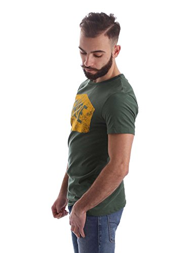 Shoeshine A6TU0105 T-shirt Man Verde