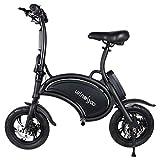 Windgoo Bicicleta eléctrica Plegable Ruedas de 12',Batería de Litio de...
