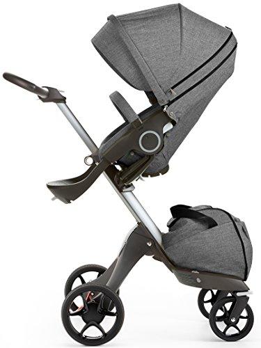 Stokke-Stuhl Kinderwagen Xplory V5Black Melange Schwarz