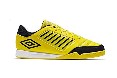 Umbro Chaleira Liga, Scarpe da Calcetto Indoor Uomo, Giallo (Blazing Yellow/Black/White A6c), 43 EU