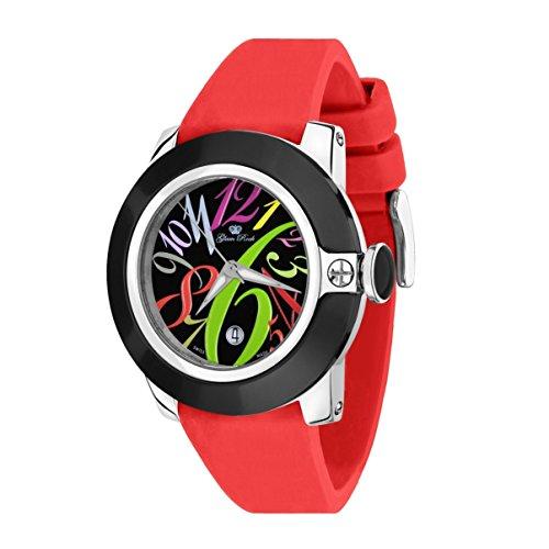 Glam Rock Reloj Sobe GR32040 Rojo