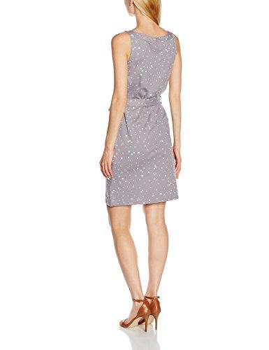 People Tree Damen Kleid Rhonda Dress Grau - Grau