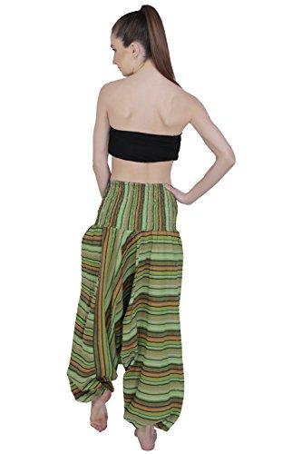 Aakriti Gallery -  Pantaloni  - Donna Parrot Green