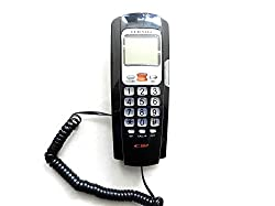 Glives Orientel KX-T555 Jumbo LCD Landline Caller Id Telephone Corded Phone (Assorted Color)