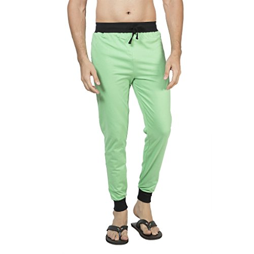 Clifton Men's Ribbed Slim Fit Track Pant - Z-Green - XX-Large