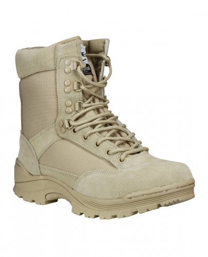 Mil-Tec Tactical Boots Zipper Khaki Gr.42