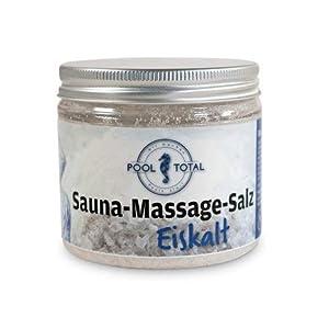 Hochwertige Sauna-Massage-Salze von POOL Total- Eiskalt