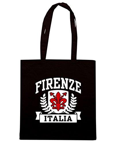 T-Shirtshock - Borsa Shopping TSTEM0163 firenze italia logo Nero