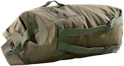 Xcase großer Seesack: Extragroßer Canvas-Seesack, 100 Liter (Rucksack)