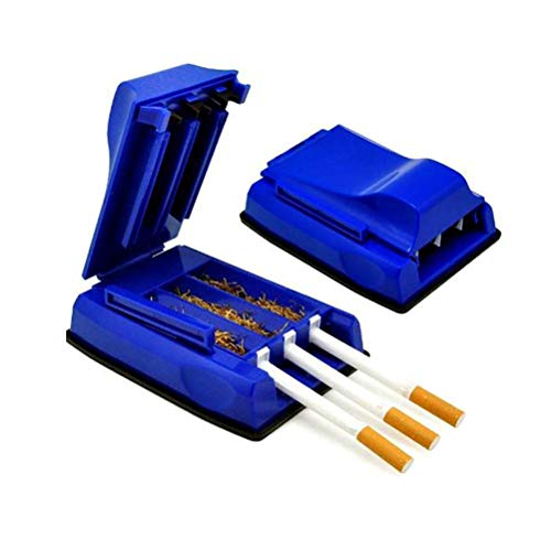 Máquina de laminación de cigarrillos, tres tubos Máquina de llenado de tubos de tubo de rodillo de cigarrillos manual Máquina de llenado de tubos - Inyector/relleno de tabaco de liar