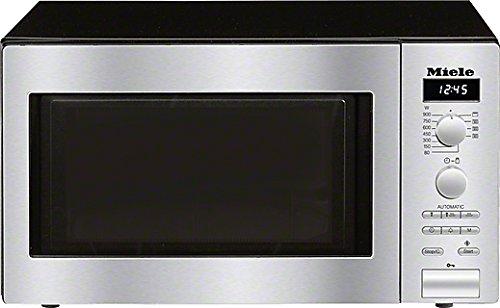 Miele M6012SC D Mikrowelle / 900 Watt / 26 Liter / Edelstahlgarraum / LED-Beleuchtung / edelstahl