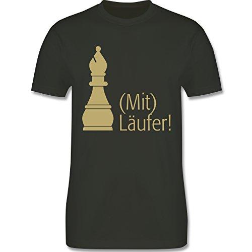 JGA Junggesellenabschied - Mitläufer - Herren Premium T-Shirt Army Grün