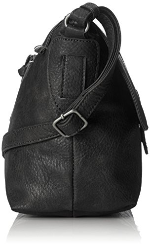 Tamaris - Patty Crossbody Bag L, Borse a tracolla Donna Nero (Black)