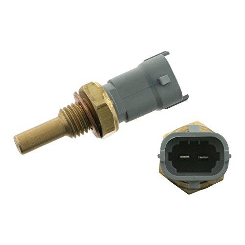 febi bilstein 28381 Kühlmitteltemperatursensor mit Dichtring, Anschlusszahl 2, Aussengewinde M12 x 1,5, 1 Stück -
