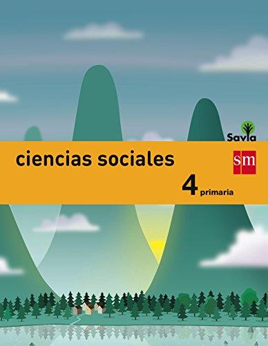 Ciencias sociales. 4 Primaria. Savia - 9788467575446