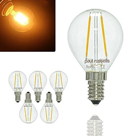 5 x 2W / 4W G45 E14 Mini Globe LED