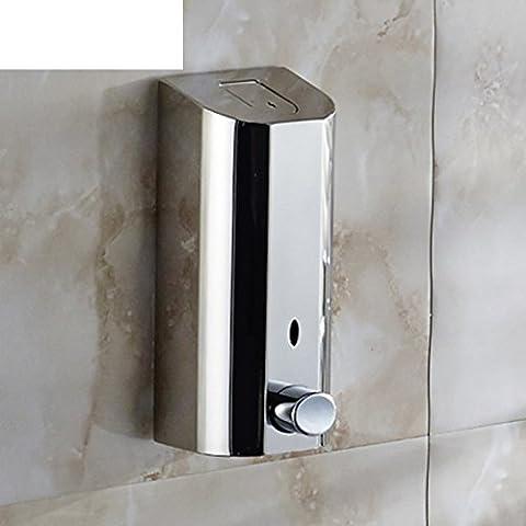 Hotel Haushalt Bad Seifenspender Edelstahl Wandmontage Hand Dusche Gel Flaschen Hand Sanitizer-B
