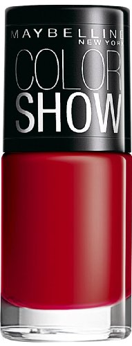 Maybelline Color Show Nail Enamel, Downtown Red 6 ml