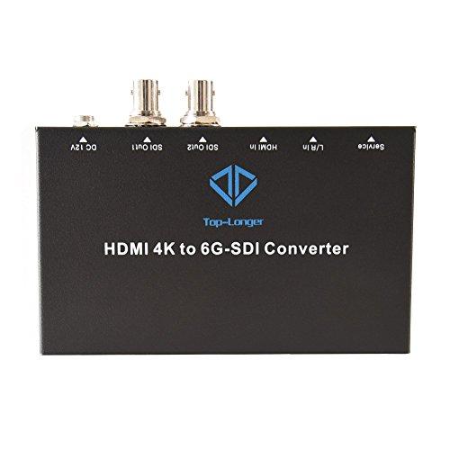 Top-Longer HDMI zu 6 g-SDI Konverter Mit Dual SDI Out - Dual S-video
