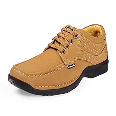 Red Chief Men's Rust Leather Casual Shoes (RC5055) UK 6