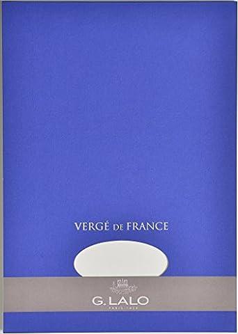 Brause 12700L Bloc vierge Vergé de France A4 100 g/m² (Blanc)