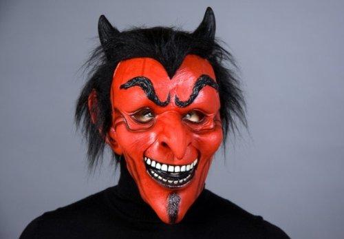 ld Maske Teufel Latex Halloween (Latex Maske Teufel)
