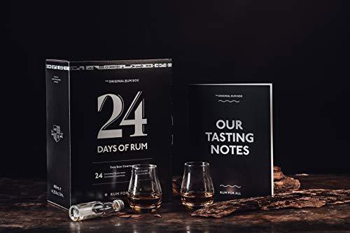 24 Days of Rum der Original-Rumkalender 2019