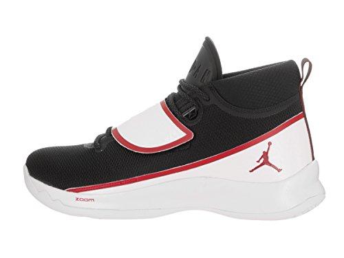 Nike Jordan Super.fly 5 Po, Scarpe Basket uomo Black/White/Gym Red
