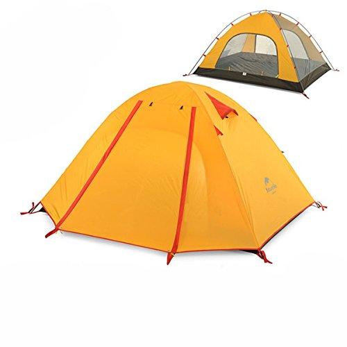 Azarxis 1 2 3 4 Personne Tente de Camping Randonnée 3 Saison Bivouac Familiale Facile à Monter...
