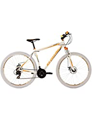 KS Cycling Fahrrad Mountainbike Twentyniner Compound RH 51 cm, Weiß, 29 Zoll, 106M