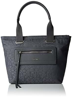 calvin klein jeans k60k600597 lara city shopper 032 tasche grau. Black Bedroom Furniture Sets. Home Design Ideas