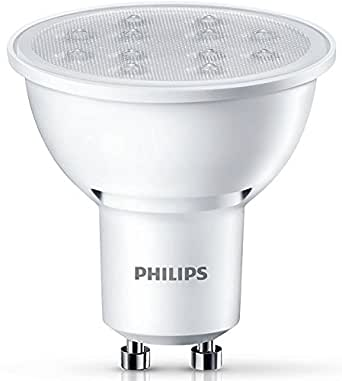 philips led lampe ersetzt 50w eek a gu10 warmwei 2700 kelvin 350 lumen 8718696483787. Black Bedroom Furniture Sets. Home Design Ideas