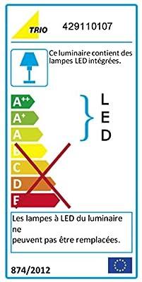 Trio Leuchten LED-Fluter in Messing antik 429110104