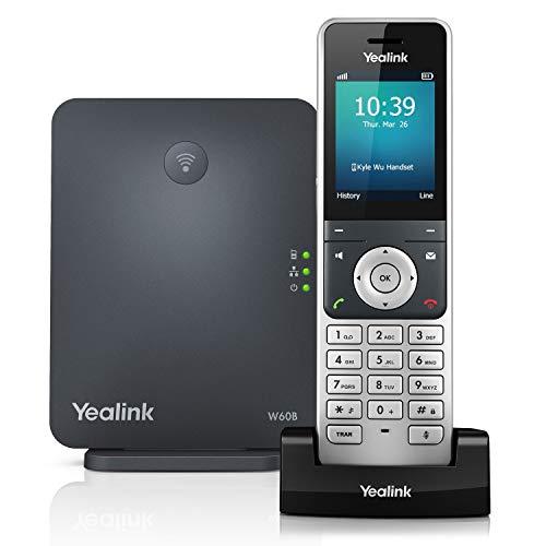 Yealink W60-Paket IP-Telefon schwarz Voip-ip-telefon