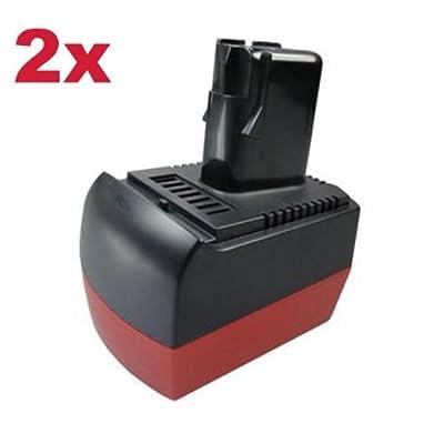 2x Hochleistungs Li-Ion Akku 12V 3000mAh für Metabo BS 12 BS12 BST12 BST 12 SB 12 SB12 Plus Impuls BSZ12 BSZ-12 BSZ12m BSZ-12-m Impuls BZ12SP BZ-12-SP SSP12 SSP-12 ULA 9.6-18 9.6 - 18 9.6V-18V