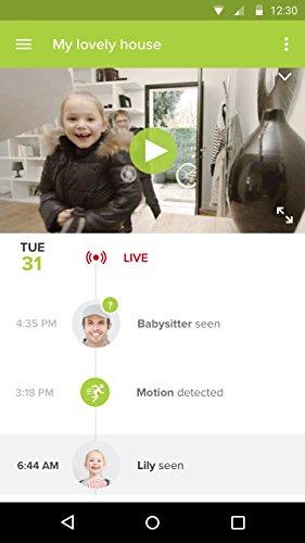 41KuwMDOSGL [Bon Plan Smarthome!]  Caméra de Surveillance Intérieure Intelligente - Netatmo Welcome