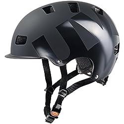 Uvex HLMT 5 Bike Pro Casco de Ciclismo, Unisex Adulto, Negro (Mate), 58-61 cm