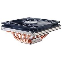 Scythe Big Shuriken 2- Cooler para CPU, 0.19 A, 12 V, Negro, Plata, 410 g, 125 x 135 x 58 mm