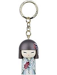 Porte clé Kokeshi Kimmidoll 5cm Azumi - bonté