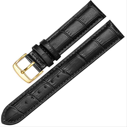 Kalbsleather Watch Band, Extra Soft Watch Strap for Men Women with Watch Buckle 18mm 20mm 22mm
