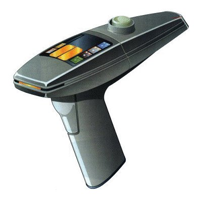 Phaser - Star Trek: The Motion Picture - Type-2 Phaser with removable Type-1 Hand Phaser - Limited Edition Exclusive (Phaser Star Gun Trek)