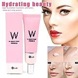 Luckguy Face Pore Primer Whitening Moisturizing Cream Brighten Beauty Skin Cosmetic for Wom