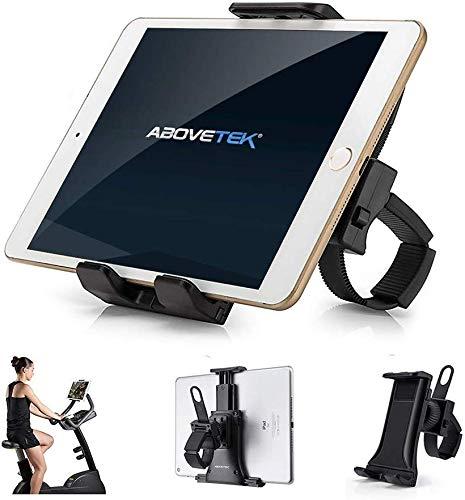 AboveTEK Handyhalterung Fahrrad, Motorrad Handy Halter mit 360° Drehbar für Auto Bike GPS Navi Fitnessstudio Tablet Phone Smartphone (8,9-30,5 cm)