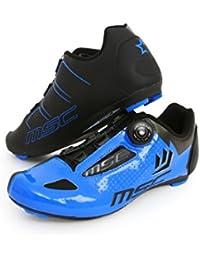 MSC Bikes Aero Road Zapatillas, Unisex Adulto - Azul - EU 42