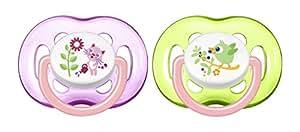 Philips Avent SCF186/25 Succhietti, Multicolore