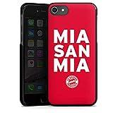DeinDesign Apple iPhone 8 Hülle Case Handyhülle Mia San mia FC Bayern München Spruch